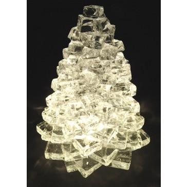 Le cadeau idéal et exclusif: lampe glaçon en forme de sapin