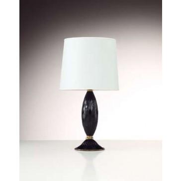 Pied de lampe en verre artisanal de Murano