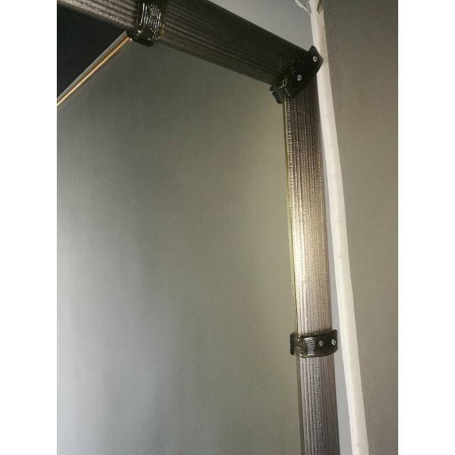 miroir artisanal en verre de murano miroirs v nitiens de. Black Bedroom Furniture Sets. Home Design Ideas