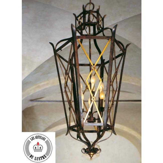 Lanterne Artisanale En Fer Forge I Lustres Com