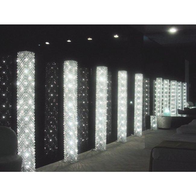 lampe artisanale faite de grille de verre recycl lustres design cologiques i. Black Bedroom Furniture Sets. Home Design Ideas