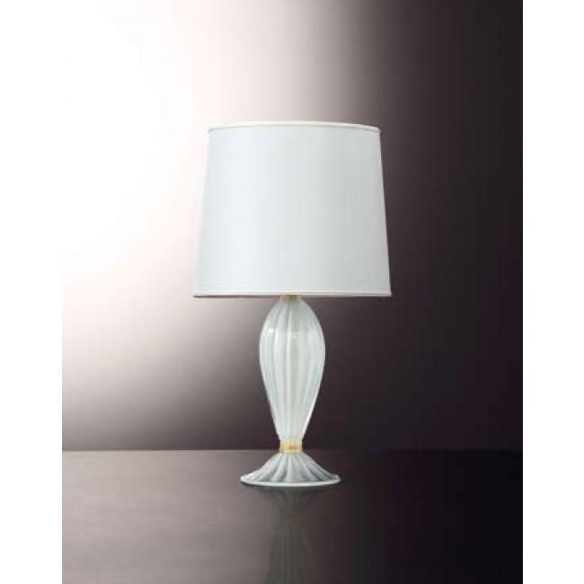 pied de lampe en forme de balustre en verre souffl. Black Bedroom Furniture Sets. Home Design Ideas