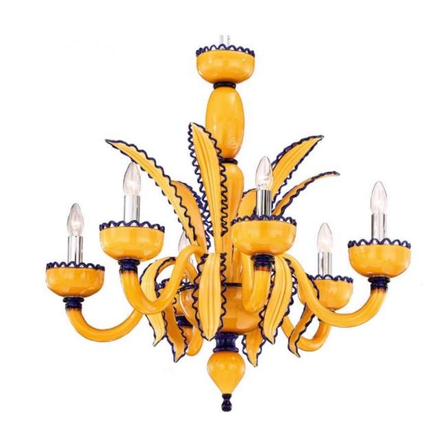 ... Lustres Murano design en verre soufflé de Venise / Lustre design de