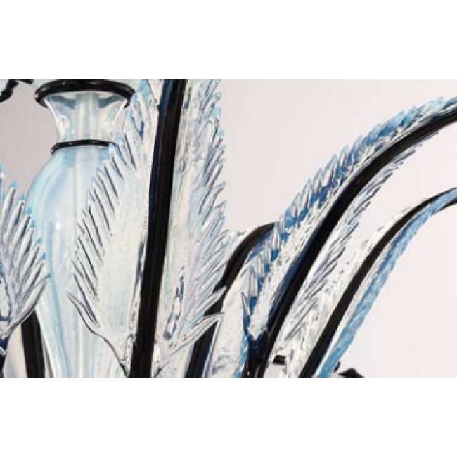 Lustre en verre soufflé de Murano au design résolument moderne  i ...