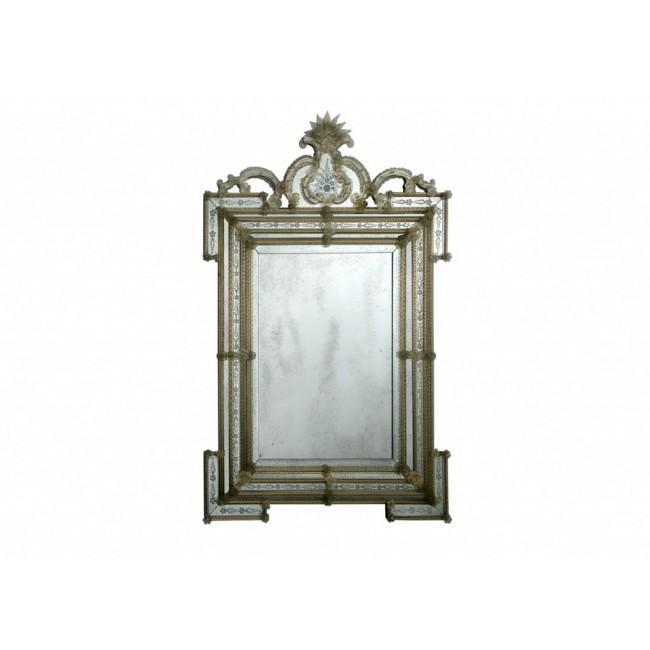 Miroir baroque v nitien parecloses i for Miroir venitien murano