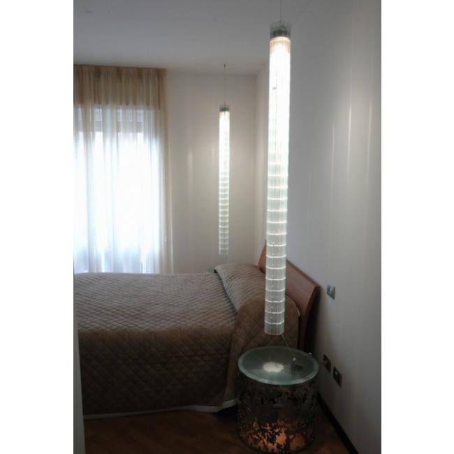 lampe artisanale en verre recycl i. Black Bedroom Furniture Sets. Home Design Ideas