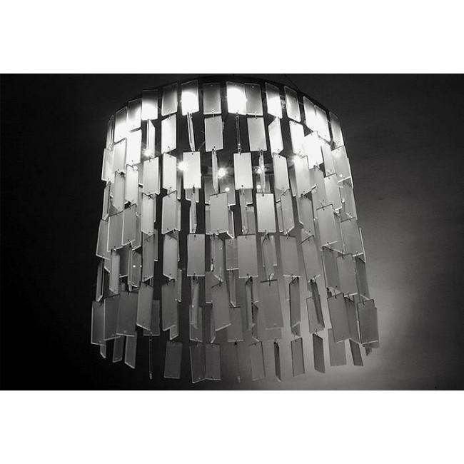 lustre design cologique plaquettes de verre lustres design cologiques i. Black Bedroom Furniture Sets. Home Design Ideas