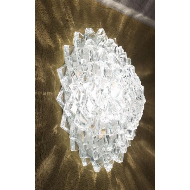 applique gla on en verre artisanal i. Black Bedroom Furniture Sets. Home Design Ideas