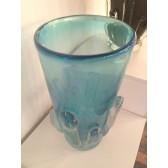 Vase artisanal en verre de Murano