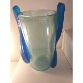 Vase modèle Iris de fabrication artisanale en verre artisanal de Murano