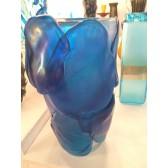 Vase en verre artisanal de Murano, modèle Célébration