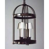 Lanterne ronde de style baroque revisité