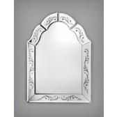 Miroir vénitien artisanal de style français