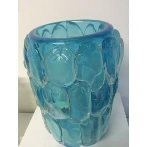 Vase artisanal en verre de Venise, modèle Sirène