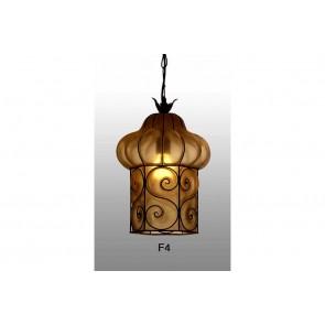 Lanterne de Venise artisanale en forme de cage