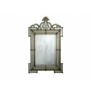 Miroir baroque vénitien à parecloses