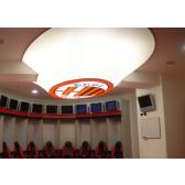 Luminaire de forme libre, en toile PVC