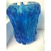 Vase artisanal  en verre traditionnel de Murano