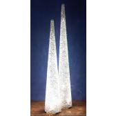 Lampe conique monumentale, artisanale et numérotée