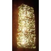Applique en verre recyclé de fabrication artisanale