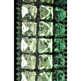 Système d'éclairage en verre coloré recyclé