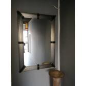 Miroir artisanal en verre de Murano