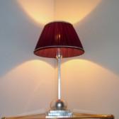Lampe de table ou de chevet de style Art Déco, fabrication artisanale sur mesure
