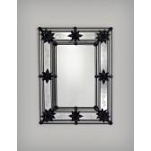 Exceptionnel miroir en verre de Venise, fabriqué à Murano