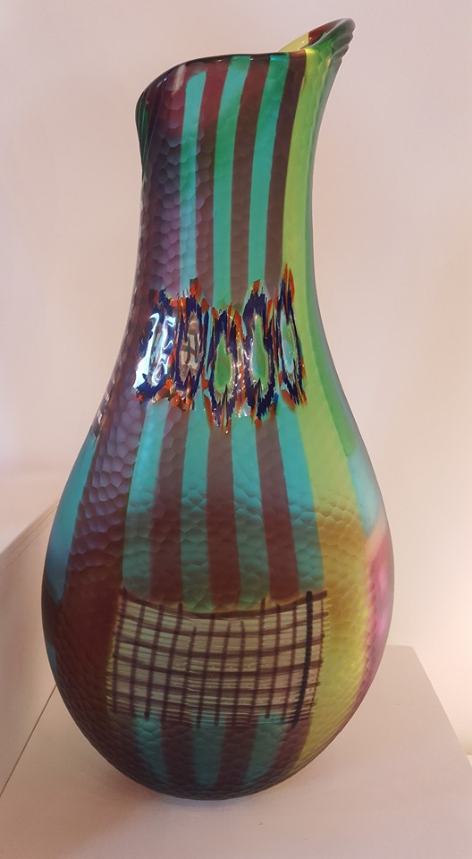 Vases en verre artisanal de Venise