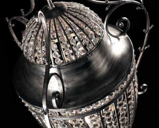 Lanternes artisanales en fer forgé de Florence