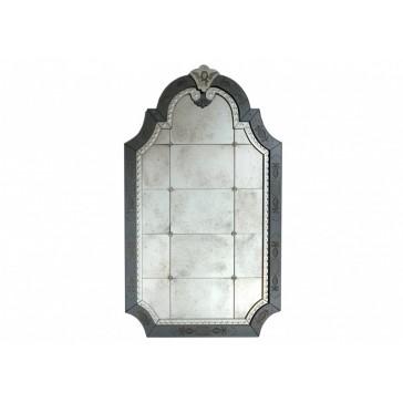 Miroir traditionnel de Venise en verre artisanal