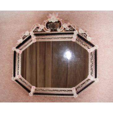 Miroir traditionnel vénitien de style baroque