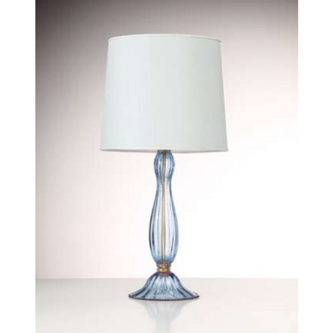 pied de lampe en verre souffl artisanal de murano i. Black Bedroom Furniture Sets. Home Design Ideas