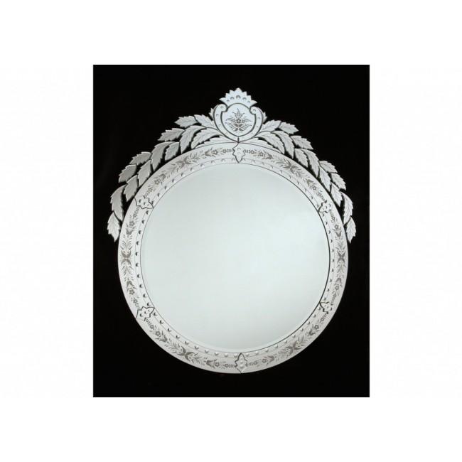 grand miroir rond de tradition v nitienne fabrication artisanale murano verre de venise i. Black Bedroom Furniture Sets. Home Design Ideas