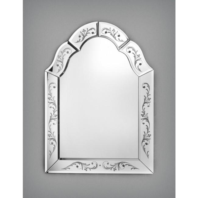 Miroir v nitien artisanal de style fran ais murano for Miroir artisanal