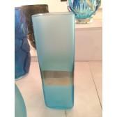 Vase en verre artisanal de Murano, modèle Riviéra