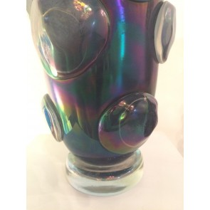 Vase artisanal de Murano, modèle Pop Art