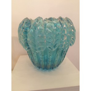 Vase e verre de Murano, modèle acanthe