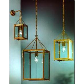 Lanterne design en laiton