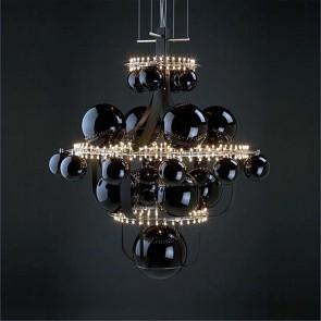 Sublime lustre alliant la modernité des LED avec le savoir faire des verriers de Murano
