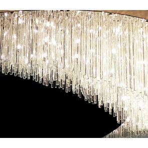 Pluie lumineuse: le lustre moderne au design intemporel