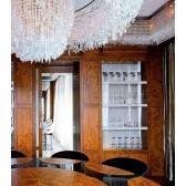Sublime fontaine de lumière tout en cristal Swarovski